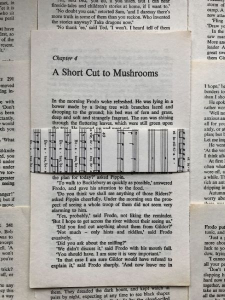 Tolkien - Lord of the Rings - 10 Book Pages